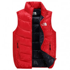 Мужской жилет The North Face red